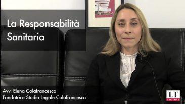 La Responsabilità sanitaria Avvocato Elena Colafrancesco